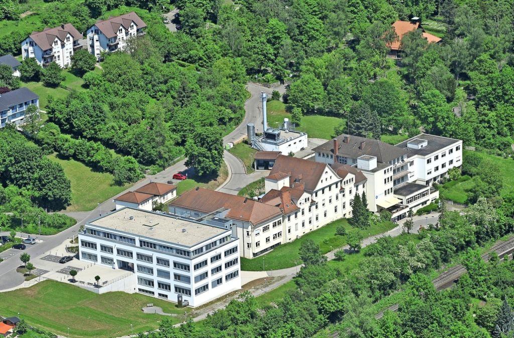 Das Marbacher Krankenhaus soll nur noch eine Belegklinik werden. Foto: Werner Waldner