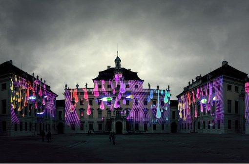 Stars beim Rave im Schlosshof
