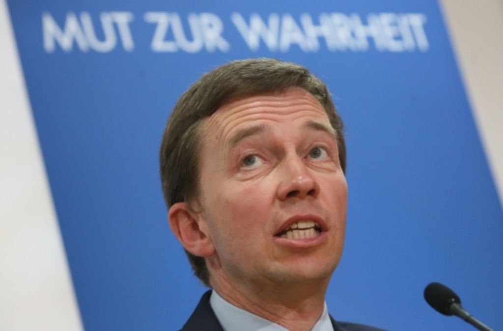 Bleibt Bernd Lucke bei der AfD oder geht er? Foto: dpa
