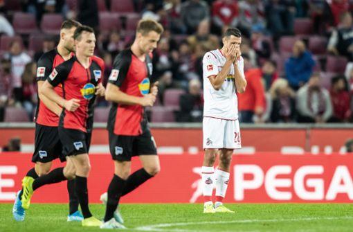 1. FC Köln geht zu Hause gegen Hertha unter