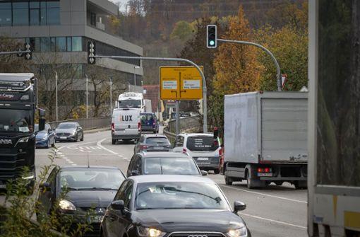Die Verkehrsbelastung bleibt
