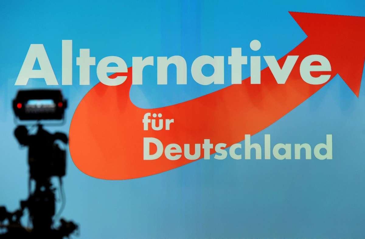 AfD (Symbolbild) Foto: dpa/Ingo Wagner