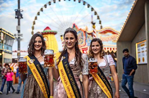 Eine Karlsruherin  ist erste Bierkönigin