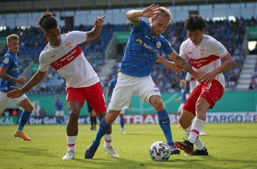 Erstrunden-Gegner des VfB  steht fest – oder auch nicht