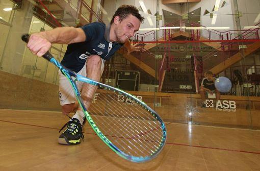 Squash-Court statt Laborkittel