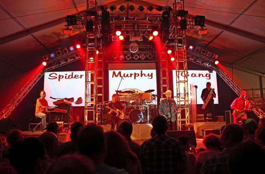Die Spider Murphy Gang war der Publikumsmagnet des Heimatsfestes 2014. Foto: Archiv Malte Klein