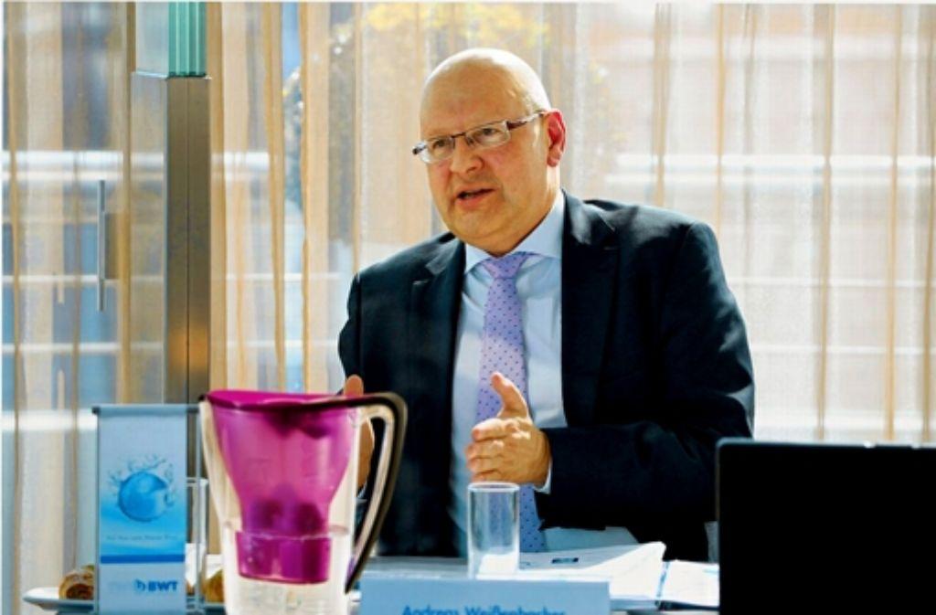 WMF-Großaktionär  Weißenbacher glaubt, dass in Geislingen gemauschelt wurde. Foto: BWT