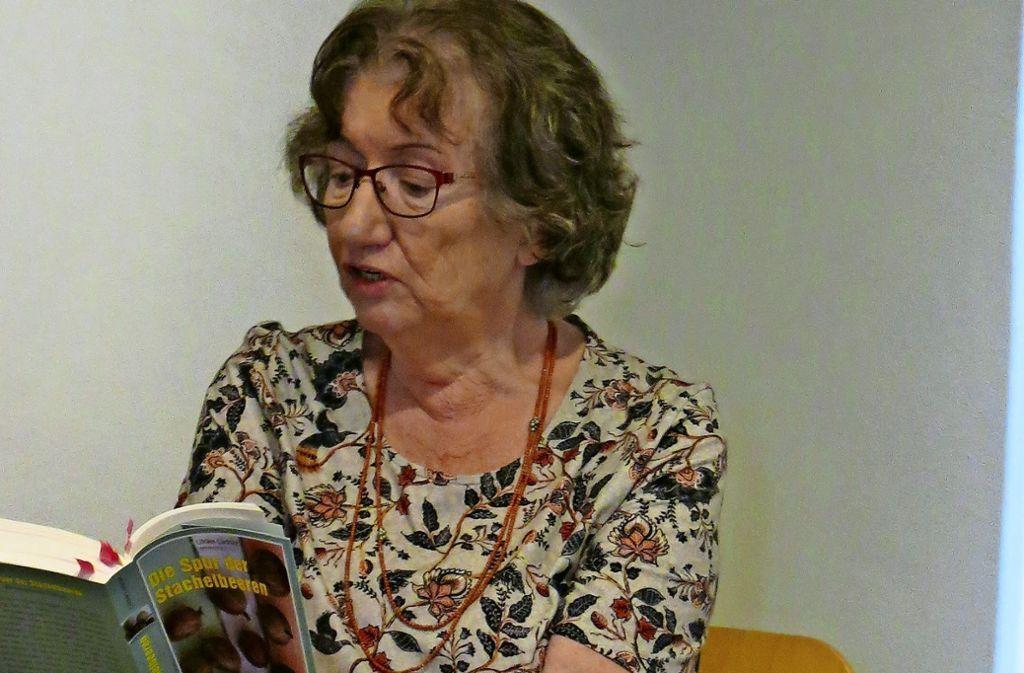 Rund 20 Zuhörer waren bei der Lesung von  Ulrike Ladnar  im Muse-O Foto: Julia Bosch