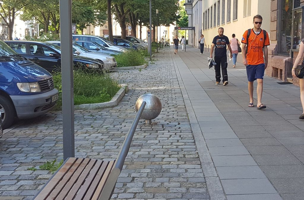 Das Fußgängerverhalten in S-West wurde untersucht. Foto: Kathrin Wesely