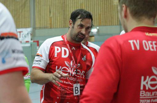 Der Trainer ist handballsatt