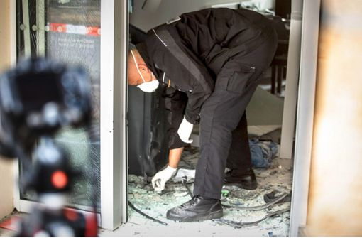 LKA ermittelt gegen Bankomat-Bomber