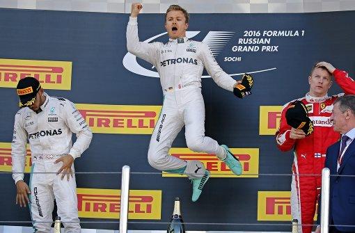 Nico Rosberg kann es nicht lassen