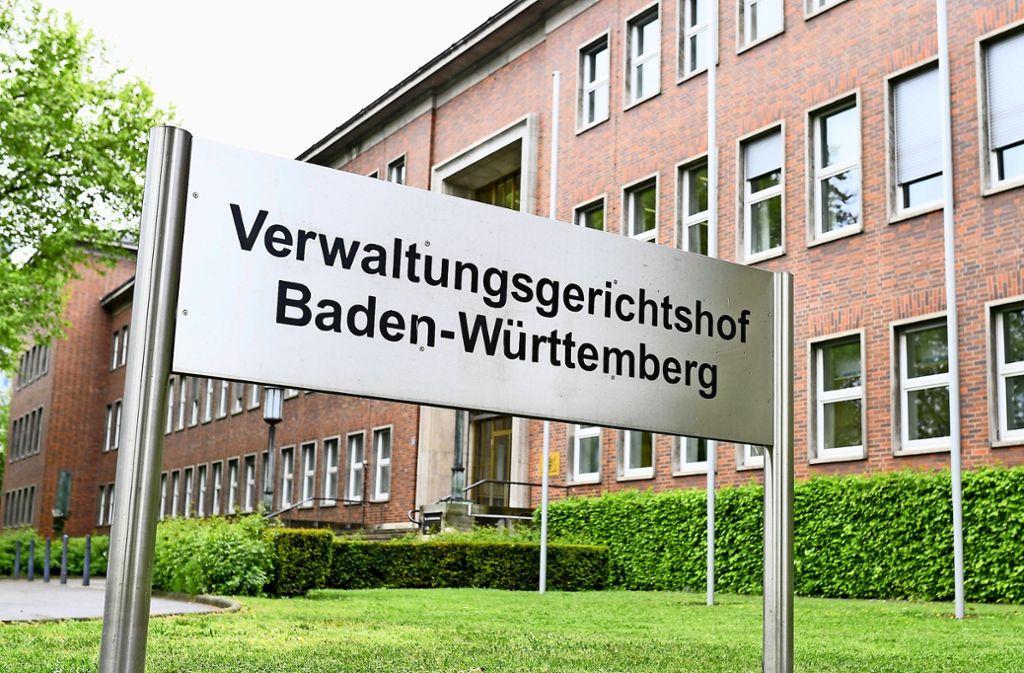 """Die beiden Kläger müssten die Maßnahmen """"wegen des hohen Gewichts des Gesundheitsschutzes"""" hinnehmen. Foto: dpa/Uwe Anspach"""