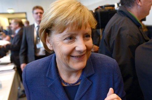 Interne  Dokumente aus dem Kanzleramt zeigen, wie Bundeskanzlerin Angela Merkel   2010 über Stuttgart  21 informiert wurde. Foto: dpa