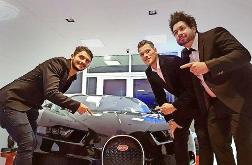 Luxusautohändler locken Promis an