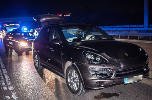 Porsche-Fahrer kracht in Stau-Ende