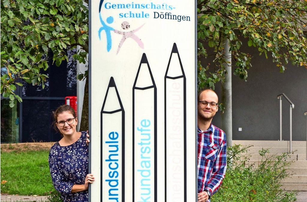 Madeleine Palla und Robin Rogowski starten  in Döffingen durch. Foto: factum