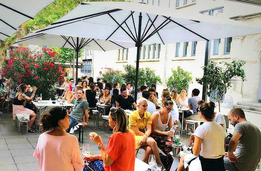 Das neue Tatti ist am Mittwoch hinter dem Stuttgarter Rathaus  eröffnet worden. Foto: ubo