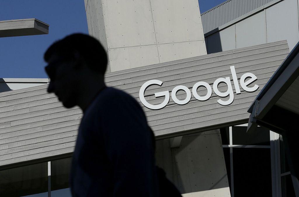 Google gehört zu den herausragenden Internetfirmen im Silicon Valley Foto: AP