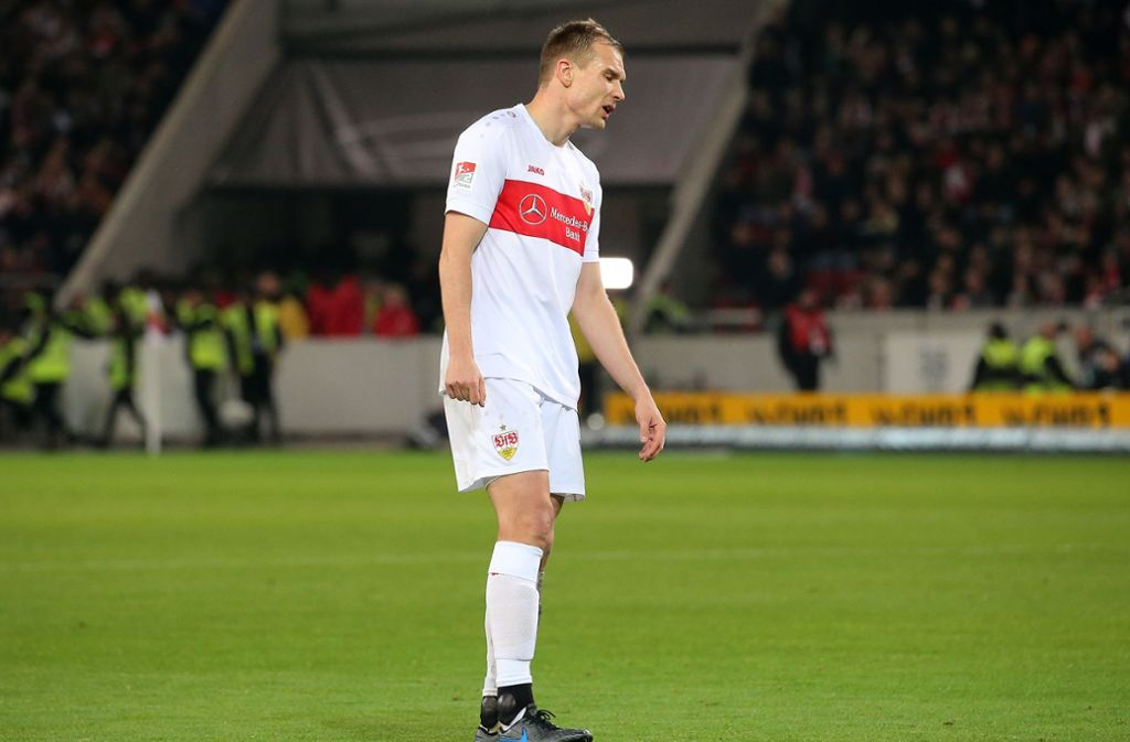Ein im Hinspiel gegen Holstein Kiel  eingefangener O-Ton bescherte  Holger Badstuber eine Geldstrafe. (Archivbild) Foto: Baumann