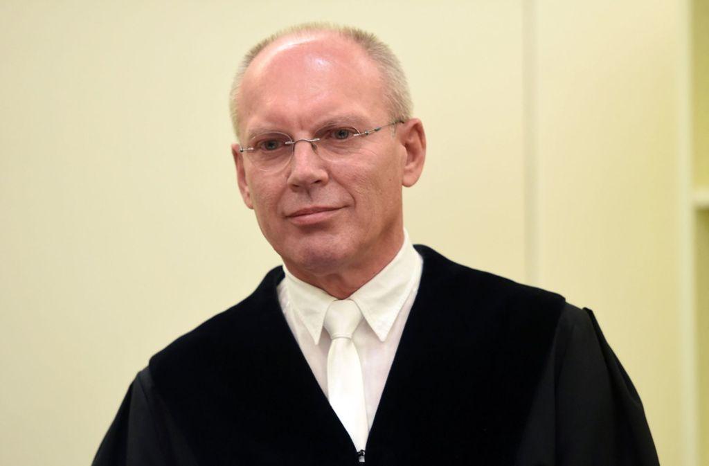 Manfred Götzl hat den NSU-Prozess geführt. Foto: dpa