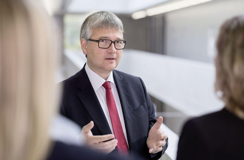 Bioregio-Stern-Chef Klaus Eichenberg setzt auf langfristige Erfolge. Foto: Körner/Bioregio-Stern
