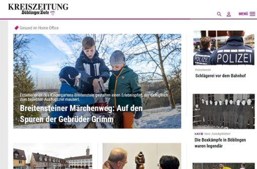 Alles neu macht der März: Kreiszeitung macht sich frisch