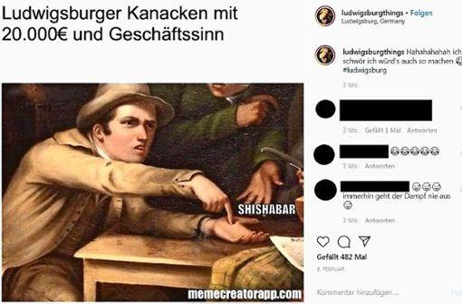 Wirbel um rassistischen Instagram-Beitrag