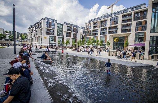Mehr Wachleute in Stuttgarter Einkaufszentren