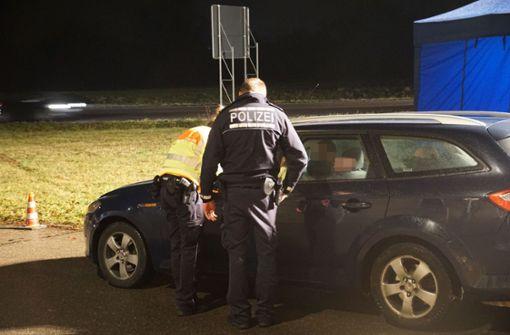 Polizei stoppt 13 Fahrer unter Drogeneinfluss