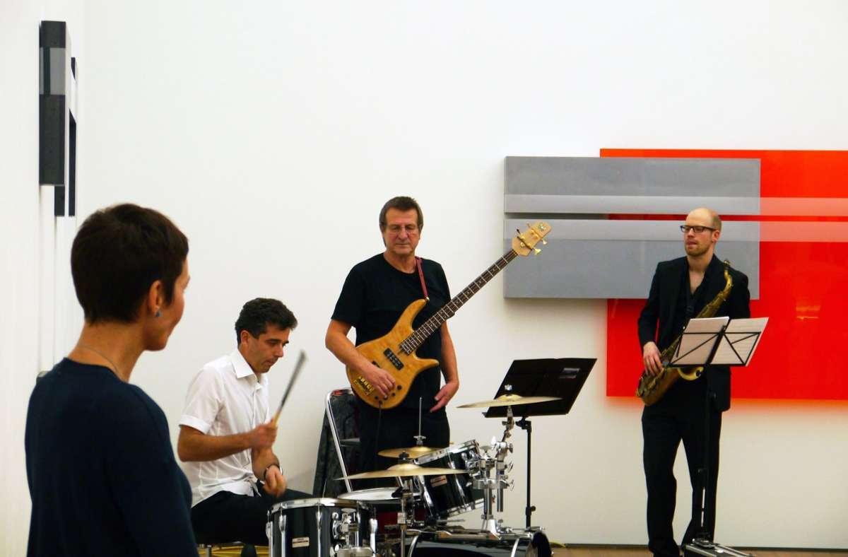 Kunst trifft Livemusik: The Jazzmates spielen im Museum Ritter. Foto: Museum Ritter