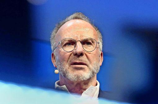 Verärgerter Karl-Heinz Rummenigge kündigt Konsequenzen an