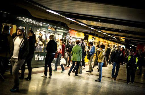 Zahl der Stuttgart-Pendler bleibt hoch