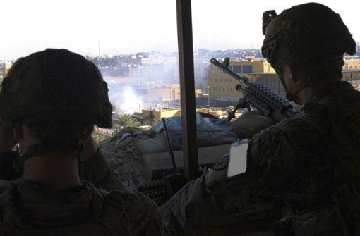 US-Regierung dementiert Pläne zu Truppenabzug aus dem Irak