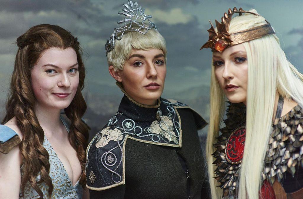 """Bei den Dragon Days spielt dieses Jahr """"Game of Thrones"""" eine große Rolle: Und Fans der Extraklasse laufen in großartigen Gewandungen auf. Foto: Ronny Schönebaum"""