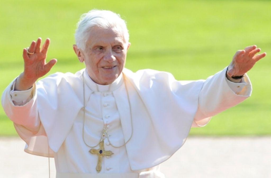 Unter ferner liefen: Papst Benedikt XVI. bekam bei der OB-Wahl zwei Stimmen. Foto: dpa