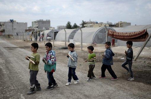 Kobane im Norden ist erneut das Ziel
