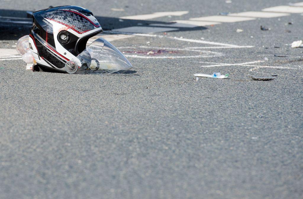 In Baden-Württemberg verunglücken weniger Zweiradfahrer tödlich. (Symbolfoto) Foto: dpa