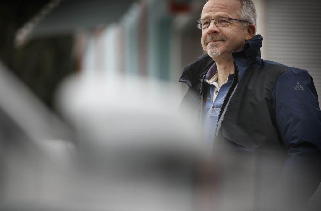 Andreas Schwarz hat nicht lange überlegt und  den Täter verfolgt. Foto: Gottfried Stoppel