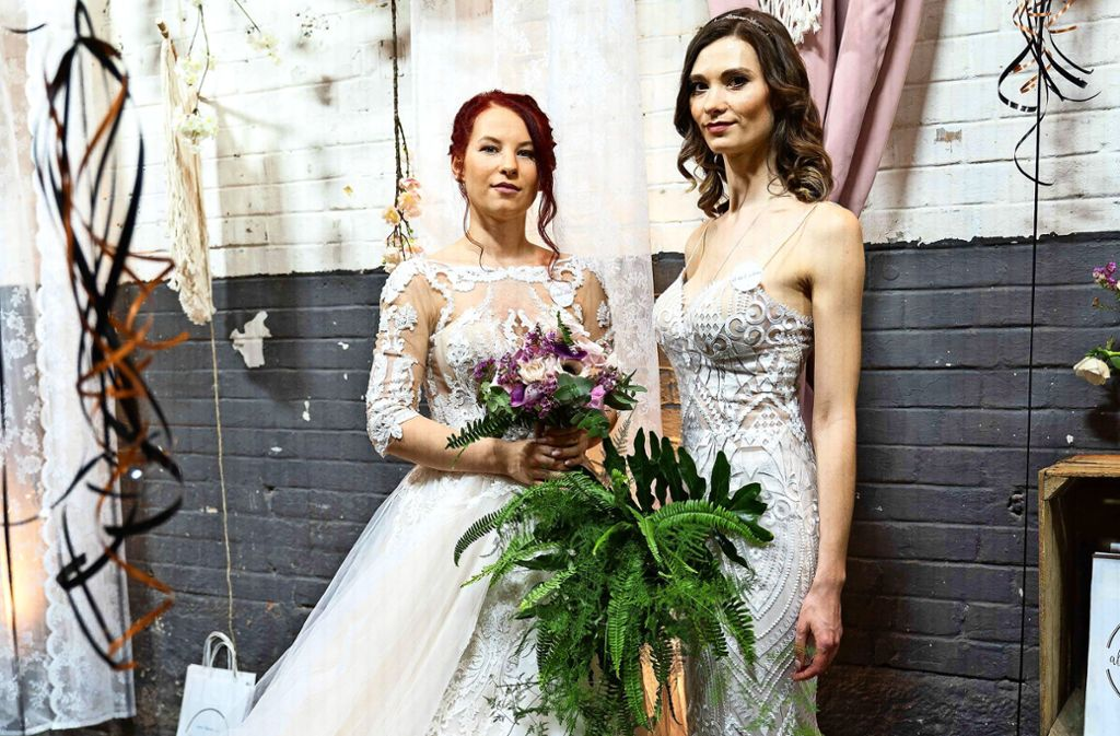Inspiration für die Hochzeit gibt an diesem Wochenende die Hochzeitsmesse in den Wagenhallen. Foto: Julia Schramm