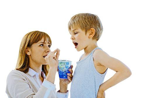 Arznei  bei Kindern: alles eine Frage der Dosis