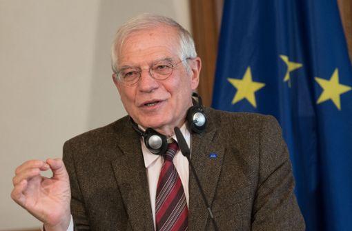EU-Außenbeauftragter entschuldigt sich für Aussage