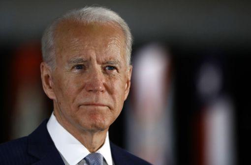 Die Pandemie stört Joe Bidens Siegeszug