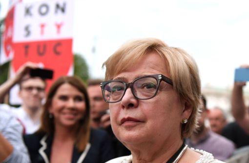 Polnische Richterin beugt sich nicht