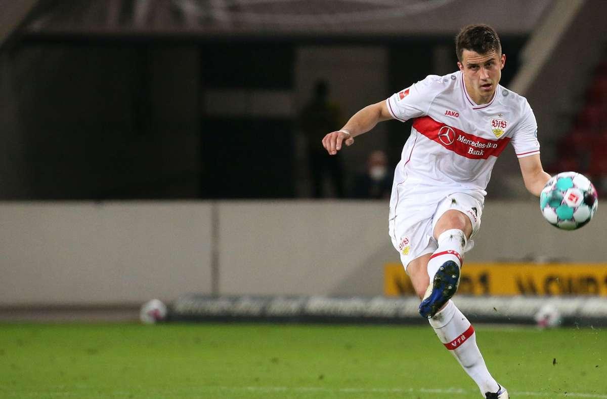 Marc Oliver Kempf könnte den VfB Stuttgart 2022 verlassen. Foto: Pressefoto Baumann/Alexander Keppler