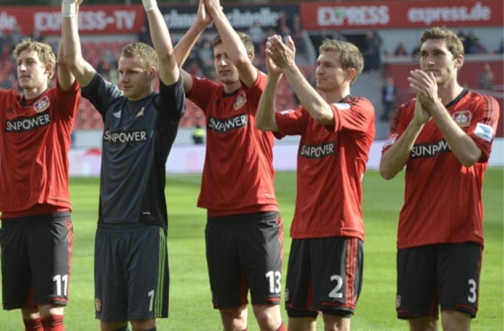 Daniel Schwaab (2.v.r.) wechselt offenbar zum VfB Stuttgart. Foto: AP