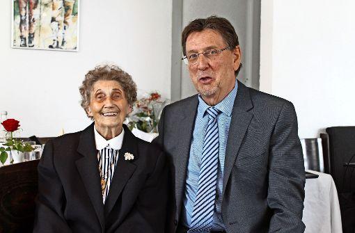 Waltraut Lücke feiert 100. Geburtstag