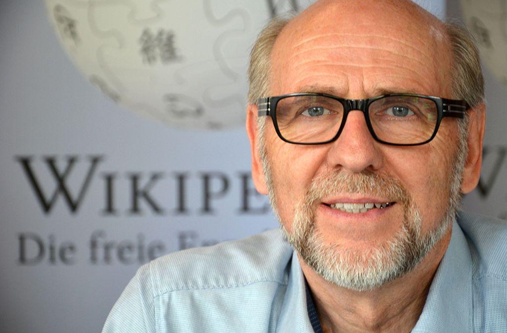 Rudolf Simon hat bereits mehr als 15.000  Wikipedia-Artikel bearbeitet. Foto: Bernd Schwabe/Wikipedia