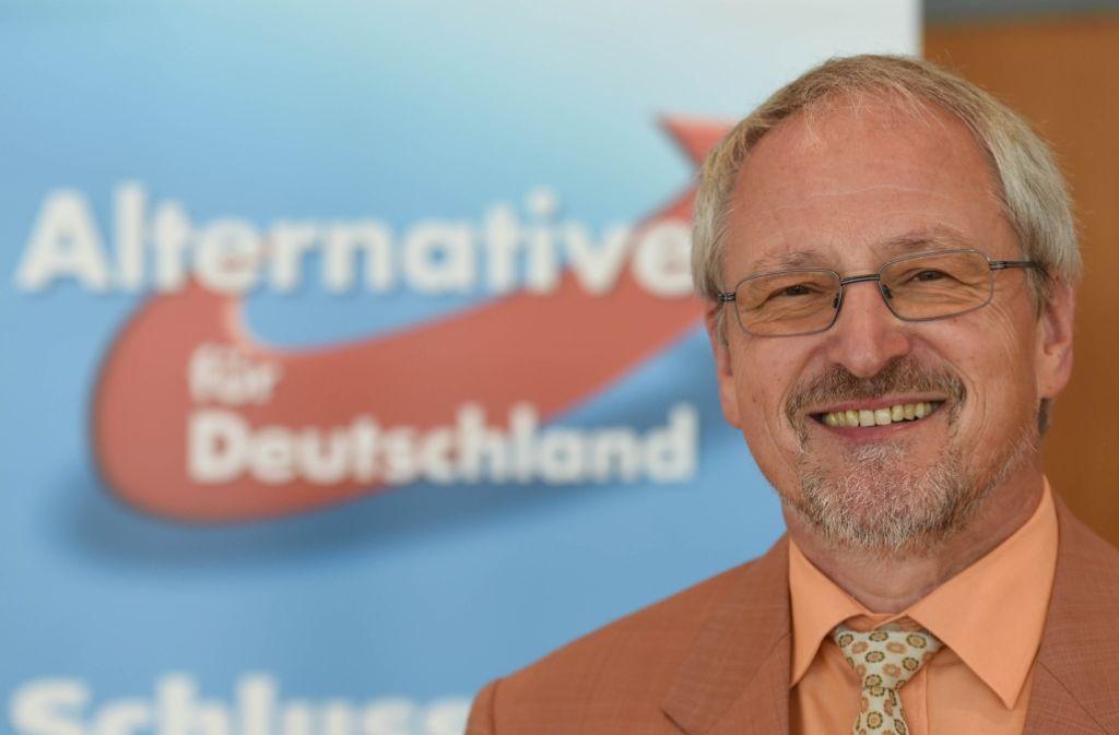 Bernd Grimmer will  ein sympathisches Gesicht seiner  Partei sein. Foto: dpa