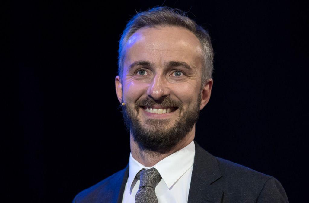 Jan Böhmermann kommt in einem Jahr im Hauptprogramm des ZDF Foto: dpa/Sven Hoppe